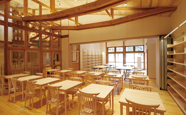 西粟倉村つどい・くらしの拠点施設サブ画像
