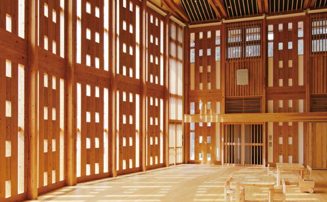西粟倉村つどい・くらしの拠点施設